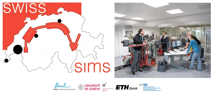 Photo swissims lab and logo