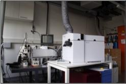 Quadrupole spectrometer Agilent 7700